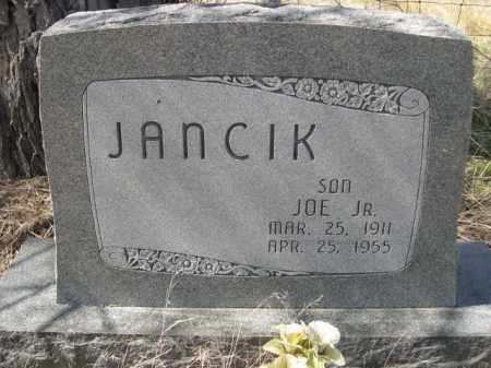 JANCIK, JOE JR. - Sheridan County, Nebraska | JOE JR. JANCIK - Nebraska Gravestone Photos