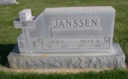 JANSSEN, NELLIE. A. - Sheridan County, Nebraska | NELLIE. A. JANSSEN - Nebraska Gravestone Photos