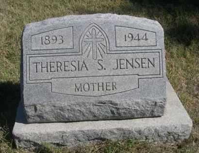JENSEN, THERESIA S. - Sheridan County, Nebraska | THERESIA S. JENSEN - Nebraska Gravestone Photos