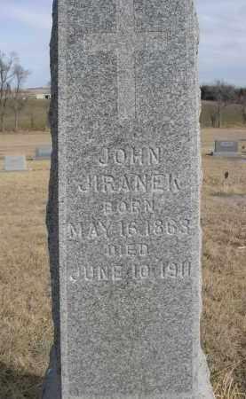 JIRANER, JOHN - Sheridan County, Nebraska   JOHN JIRANER - Nebraska Gravestone Photos
