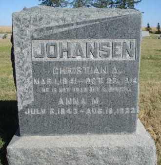 JOHANSEN, CHRISTIAN A. - Sheridan County, Nebraska | CHRISTIAN A. JOHANSEN - Nebraska Gravestone Photos