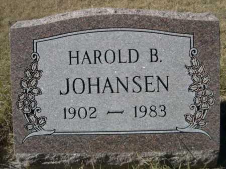 JOHANSEN, HAROLD B. - Sheridan County, Nebraska | HAROLD B. JOHANSEN - Nebraska Gravestone Photos