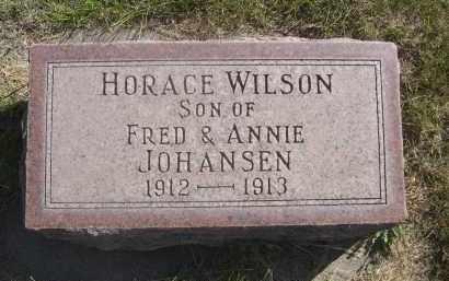 JOHANSEN, HORACE WILSON - Sheridan County, Nebraska | HORACE WILSON JOHANSEN - Nebraska Gravestone Photos