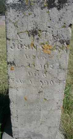 JOHNSON, UNKNOWN - Sheridan County, Nebraska   UNKNOWN JOHNSON - Nebraska Gravestone Photos