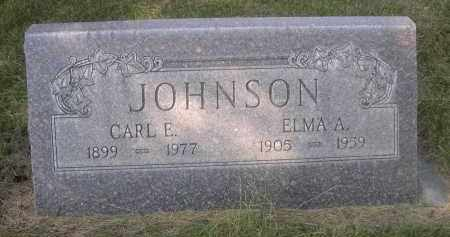JOHNSON, CARL E. - Sheridan County, Nebraska | CARL E. JOHNSON - Nebraska Gravestone Photos