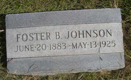 JOHNSON, FOSTER B. - Sheridan County, Nebraska | FOSTER B. JOHNSON - Nebraska Gravestone Photos