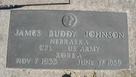 JOHNSON, JAMES BUDDY - Sheridan County, Nebraska | JAMES BUDDY JOHNSON - Nebraska Gravestone Photos