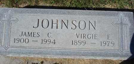 JOHNSON, VIRGIE E. - Sheridan County, Nebraska   VIRGIE E. JOHNSON - Nebraska Gravestone Photos