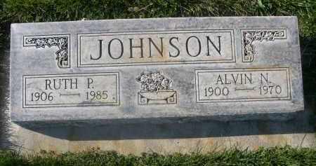 JOHNSON, ALVIN N. - Sheridan County, Nebraska   ALVIN N. JOHNSON - Nebraska Gravestone Photos