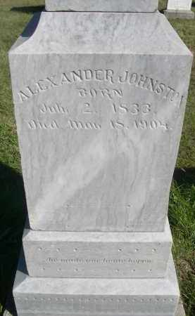 JOHNSTON, ALEXANDER - Sheridan County, Nebraska | ALEXANDER JOHNSTON - Nebraska Gravestone Photos