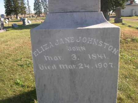 JOHNSTON, ELIZA JANE - Sheridan County, Nebraska | ELIZA JANE JOHNSTON - Nebraska Gravestone Photos