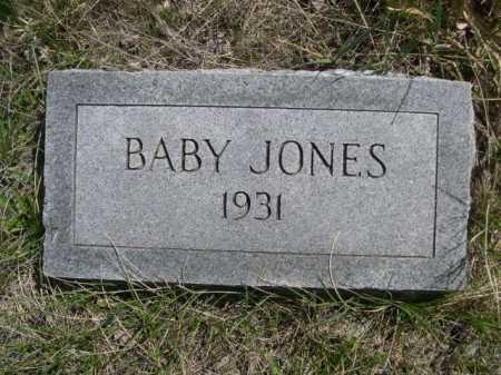 JONES, BABY - Sheridan County, Nebraska   BABY JONES - Nebraska Gravestone Photos