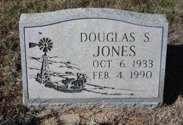 JONES, DOUGLAS S. - Sheridan County, Nebraska | DOUGLAS S. JONES - Nebraska Gravestone Photos