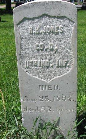 JONES, HENRY H. - Sheridan County, Nebraska | HENRY H. JONES - Nebraska Gravestone Photos