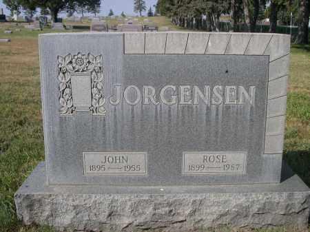JORGENSEN, JOHN - Sheridan County, Nebraska | JOHN JORGENSEN - Nebraska Gravestone Photos