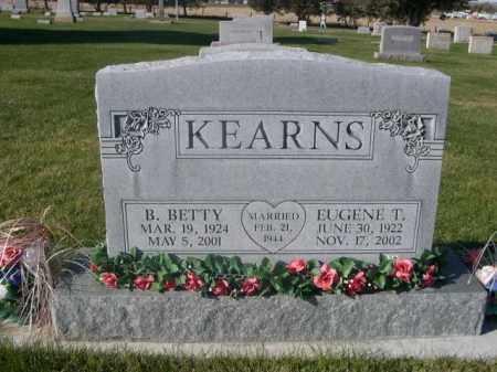 KEARNS, B. BETTY - Sheridan County, Nebraska | B. BETTY KEARNS - Nebraska Gravestone Photos
