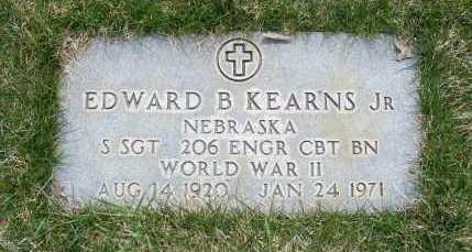 KEARNS, EDWARD B. JR. - Sheridan County, Nebraska | EDWARD B. JR. KEARNS - Nebraska Gravestone Photos