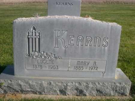KEARNS, EUGENE - Sheridan County, Nebraska | EUGENE KEARNS - Nebraska Gravestone Photos