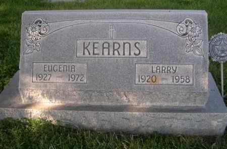 KEARNS, LARRY - Sheridan County, Nebraska | LARRY KEARNS - Nebraska Gravestone Photos