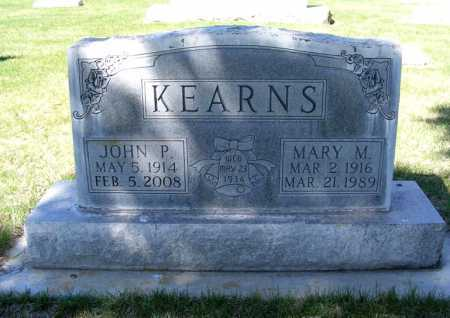 KEARNS, MARY M. - Sheridan County, Nebraska | MARY M. KEARNS - Nebraska Gravestone Photos