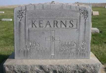 KEARNS, ELLEN S. - Sheridan County, Nebraska | ELLEN S. KEARNS - Nebraska Gravestone Photos