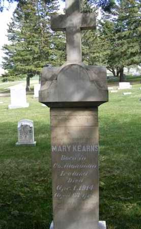 KEARNS, MARY - Sheridan County, Nebraska | MARY KEARNS - Nebraska Gravestone Photos