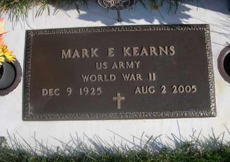 KEARNS, MARK E. - Sheridan County, Nebraska | MARK E. KEARNS - Nebraska Gravestone Photos
