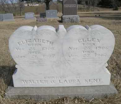 KENT, ELLEN - Sheridan County, Nebraska   ELLEN KENT - Nebraska Gravestone Photos