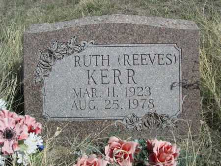 REEVES KERR, RUTH - Sheridan County, Nebraska   RUTH REEVES KERR - Nebraska Gravestone Photos