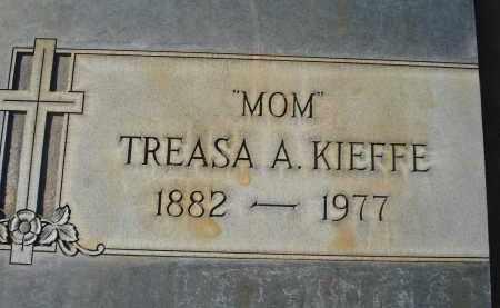 KIEFFE, TREASA A. - Sheridan County, Nebraska   TREASA A. KIEFFE - Nebraska Gravestone Photos