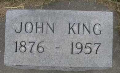 KING, JOHN - Sheridan County, Nebraska | JOHN KING - Nebraska Gravestone Photos