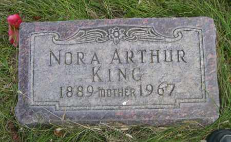KING, NORA - Sheridan County, Nebraska | NORA KING - Nebraska Gravestone Photos