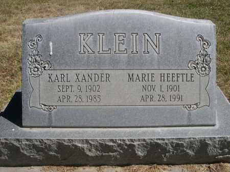 HEEFTLE KLEIN, MARIE - Sheridan County, Nebraska   MARIE HEEFTLE KLEIN - Nebraska Gravestone Photos
