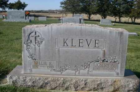 KLEVE, NELLIE R. - Sheridan County, Nebraska   NELLIE R. KLEVE - Nebraska Gravestone Photos