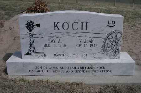 KOCH, V. JEAN - Sheridan County, Nebraska | V. JEAN KOCH - Nebraska Gravestone Photos