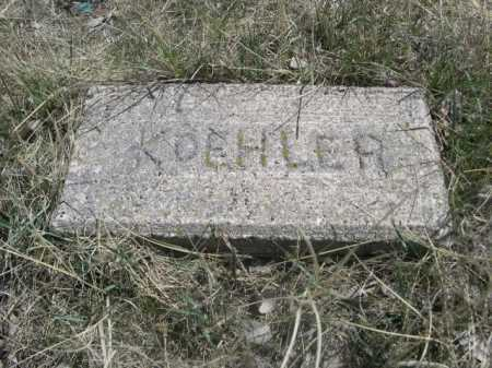 KOEHLER, PLOT - Sheridan County, Nebraska | PLOT KOEHLER - Nebraska Gravestone Photos