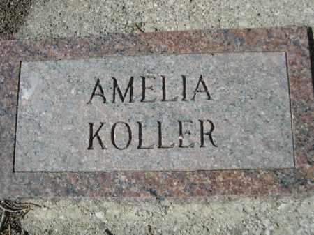 KOLLER, AMELIA - Sheridan County, Nebraska   AMELIA KOLLER - Nebraska Gravestone Photos