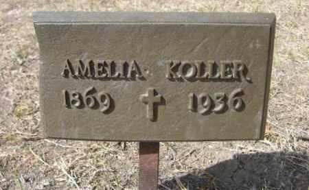KOLLER, AMELIA - Sheridan County, Nebraska | AMELIA KOLLER - Nebraska Gravestone Photos