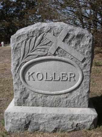KOLLER, FAMILY - Sheridan County, Nebraska | FAMILY KOLLER - Nebraska Gravestone Photos
