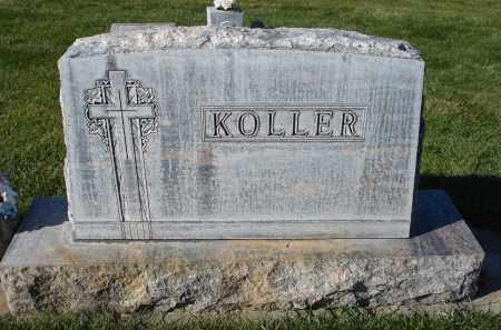 KOLLER, FAMILY STONE - Sheridan County, Nebraska | FAMILY STONE KOLLER - Nebraska Gravestone Photos