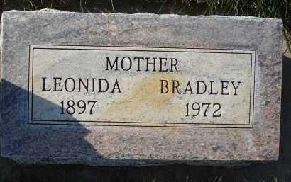 BRADLEY KOLLER, LEONIDA - Sheridan County, Nebraska   LEONIDA BRADLEY KOLLER - Nebraska Gravestone Photos
