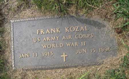 KOZAL, FRANK - Sheridan County, Nebraska   FRANK KOZAL - Nebraska Gravestone Photos