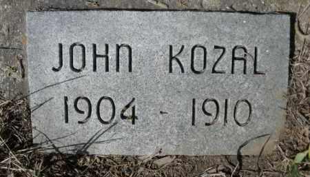 KOZAL, JOHN - Sheridan County, Nebraska   JOHN KOZAL - Nebraska Gravestone Photos
