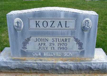 KOZAL, JOHN STUART - Sheridan County, Nebraska | JOHN STUART KOZAL - Nebraska Gravestone Photos