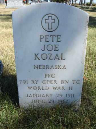 KOZAL, PETE JOE - Sheridan County, Nebraska | PETE JOE KOZAL - Nebraska Gravestone Photos