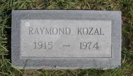 KOZAL, RAYMOND - Sheridan County, Nebraska   RAYMOND KOZAL - Nebraska Gravestone Photos