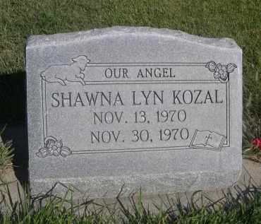 KOZAL, SHAWNA LYN - Sheridan County, Nebraska   SHAWNA LYN KOZAL - Nebraska Gravestone Photos