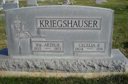 KRIEGSHAUSER, CECELIA P. - Sheridan County, Nebraska | CECELIA P. KRIEGSHAUSER - Nebraska Gravestone Photos