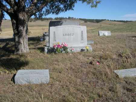KROTZ, FAMILY PLOT - Sheridan County, Nebraska | FAMILY PLOT KROTZ - Nebraska Gravestone Photos