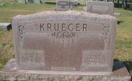 KRUEGER, WILLIAM A. - Sheridan County, Nebraska | WILLIAM A. KRUEGER - Nebraska Gravestone Photos